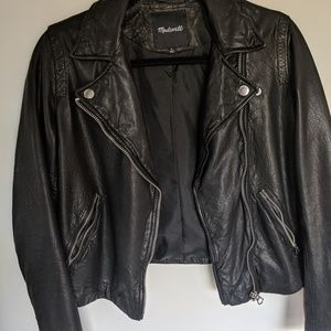 Madewell Leather Jacket (real leather!)